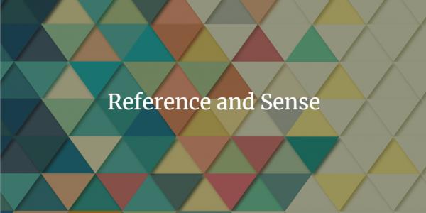 Reference and Sense